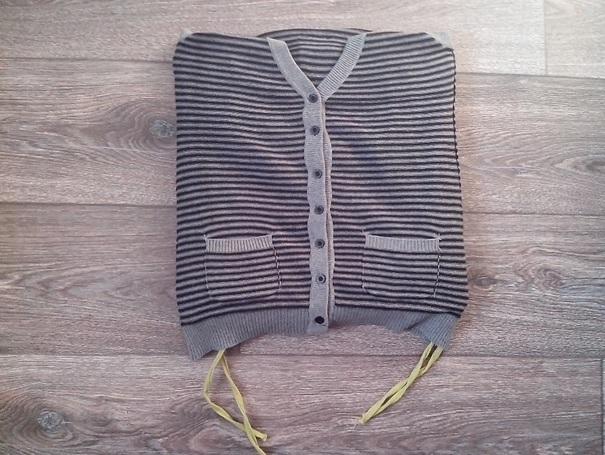 11e plaatje DIY truien stap 5
