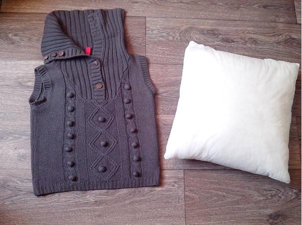 4de plaatje DIY truien stappen
