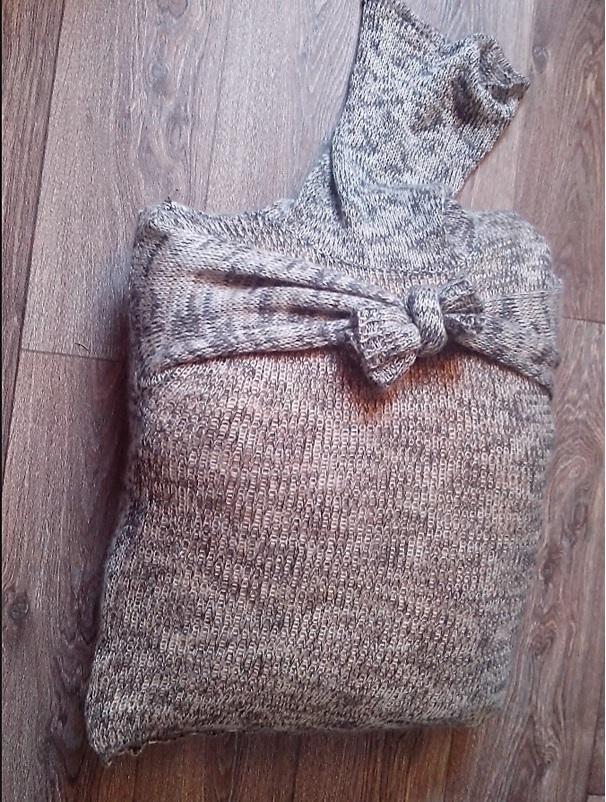 7de plaatje trui met lange mouw stap 1