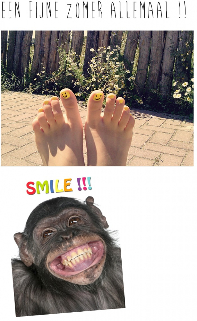 smile fijne zomer allemaal