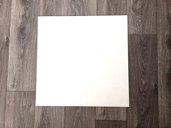 stap 3 DIYkurkbord witte plaat