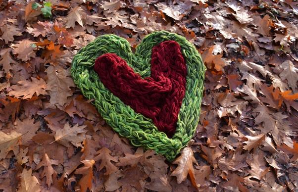 Armbreien hart van sjaals