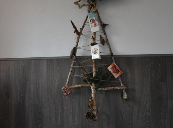 kerst kaarten boom