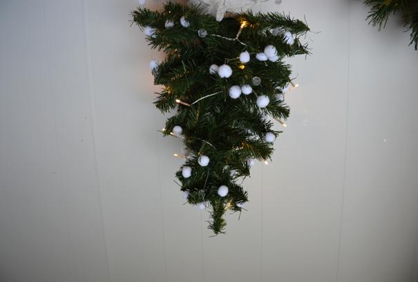 kerstboom op z'n kop