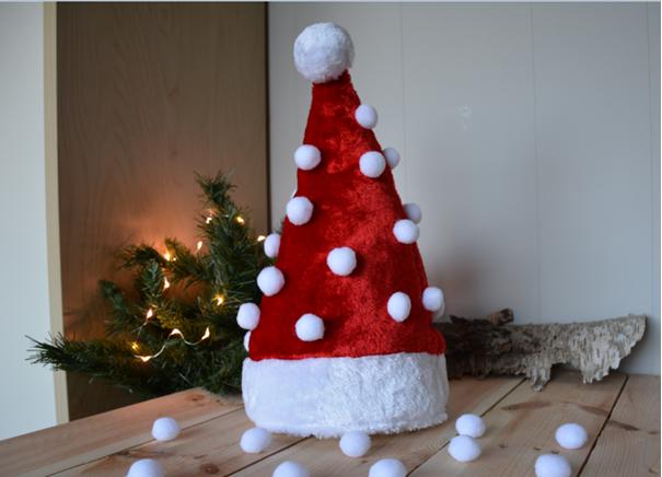 kerstboom van kerstmuts