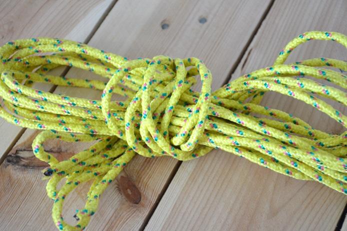Gekleurd touw